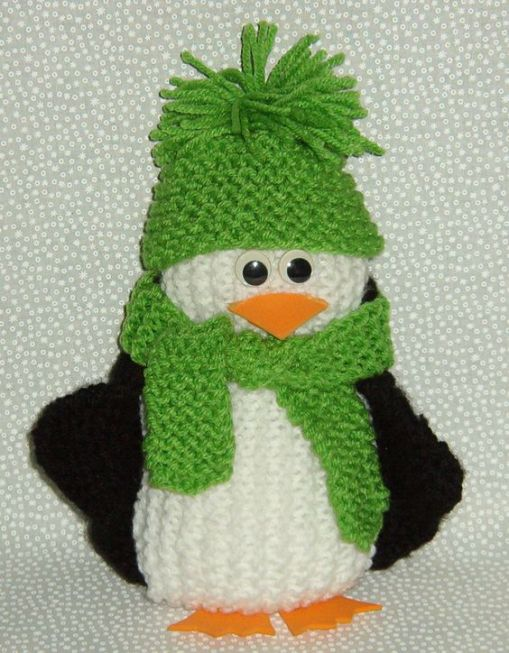 Free Knitting Pattern for Stacey's Perfect Penguin