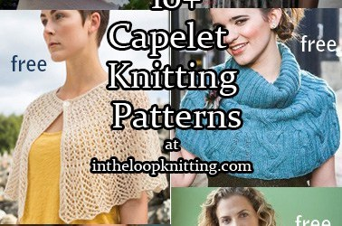 Capelet Knitting Patterns