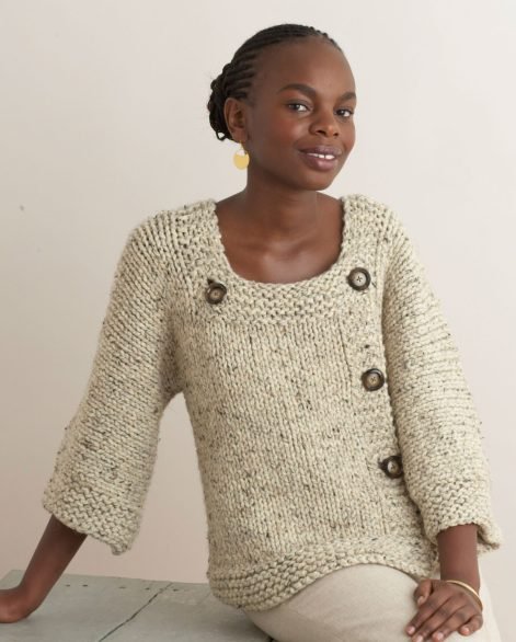 Wrap Cardigan Knitting Patterns In the Loop Knitting