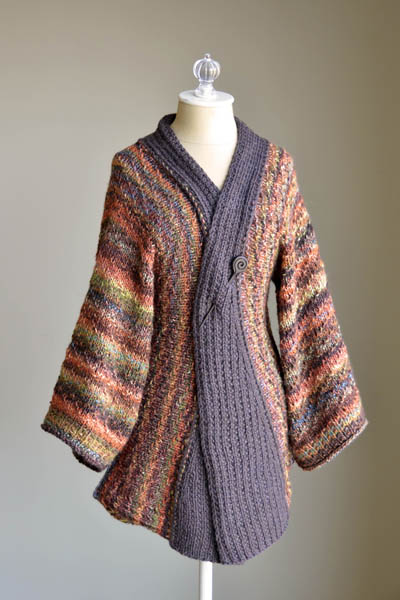 Knitting Pattern For Kimono Cardigan : Japan Inspired Knitting Patterns In the Loop Knitting