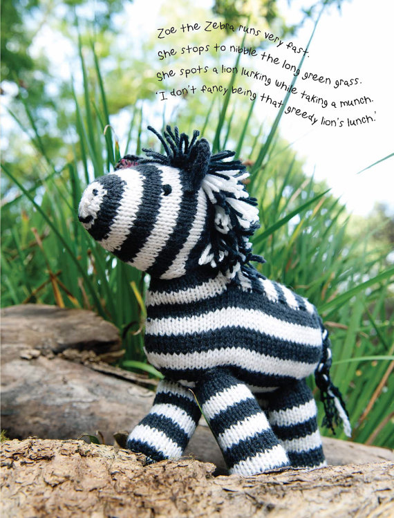 Zebra Afghan Knitting Pattern : Horse and Other Equine Knitting Patterns In the Loop ...