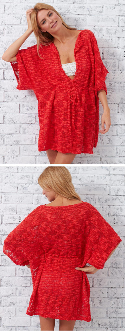 Knit Beach Cover Up Pattern : Beach Ready Knitting Patterns In the Loop Knitting