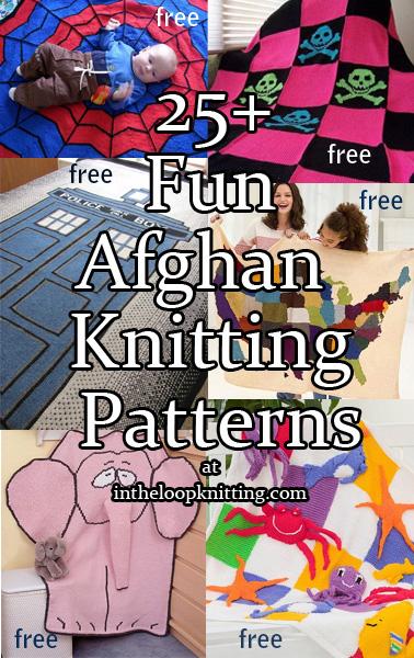 Fun Afghan Knitting Patterns In the Loop Knitting