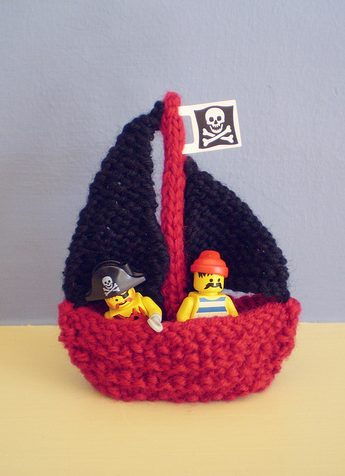 Knitting Pattern For Toy Boat : Teeny Toy Knitting Patterns In the Loop Knitting