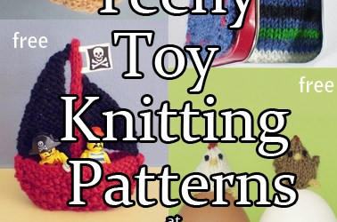 Teeny Toy Knitting Patterns