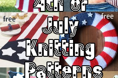4th of July / Americana Knitting Patterns