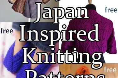 Japan Inspired Knitting Patterns
