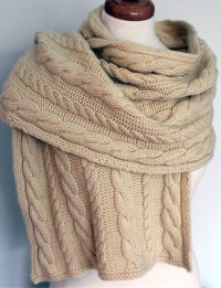 Shawls for Bulky Yarn Knitting Patterns | In the Loop Knitting