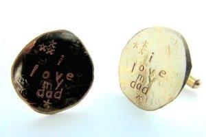 la jewellery father's day cufflinks