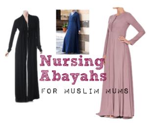 breastfeeding nursing abayahs