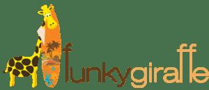 funky giraffe logo