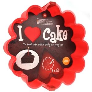 heart shaped cake mould