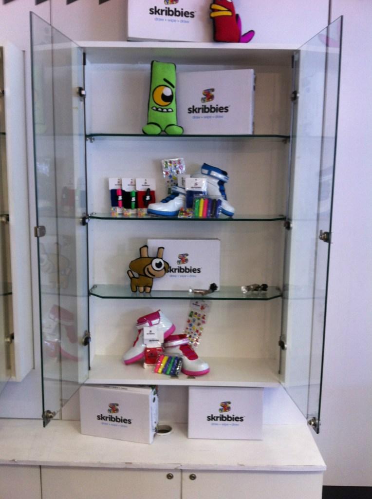 skribbies display