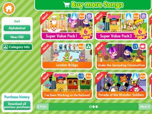 Buy more songs