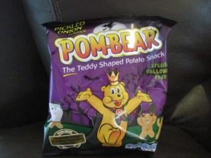 halloween pom bear