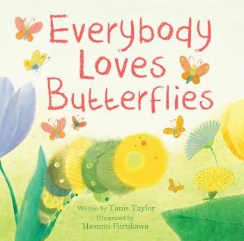parragon everybody loves butterflies