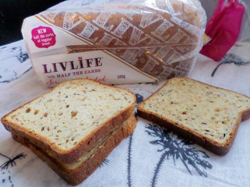 healthy food low carb bread