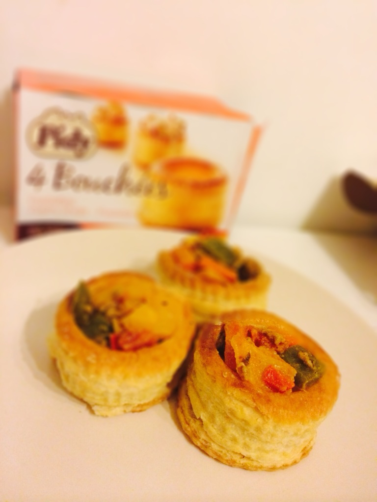 pidy pastry bouchees vegetable filling