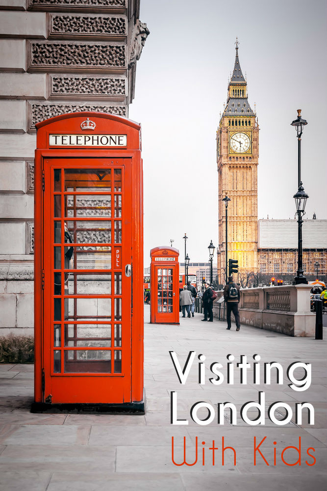 Tips for visiting London with kids - places to go, and useful hints.