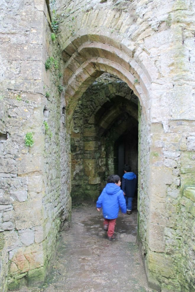 exploring doorways in chepstow castle