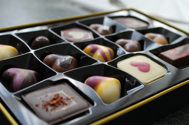 h box from hotel chocolat for mothers day