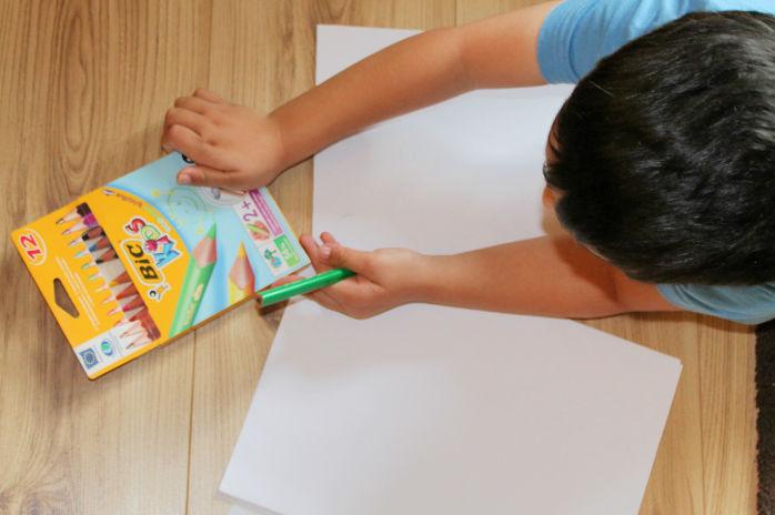 pre-writing skills with bic kids range