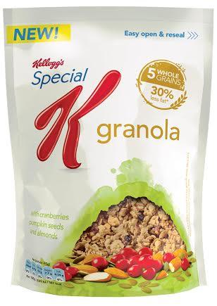 kellogs special k granola