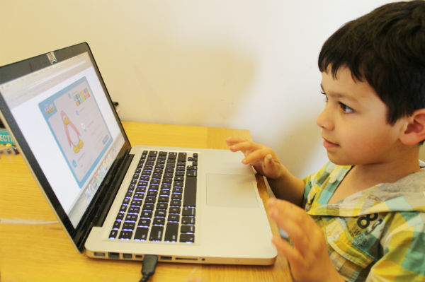 kids learning through technology