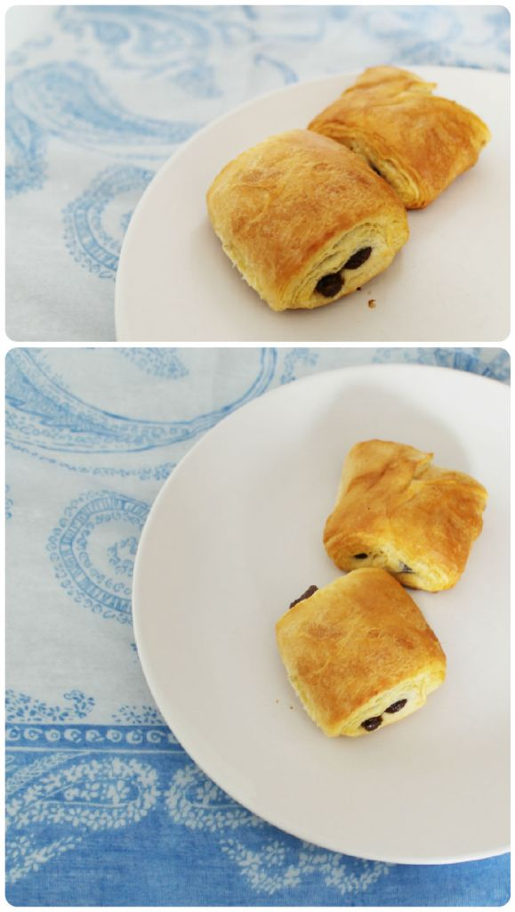 The easiest ever pain au chocolat