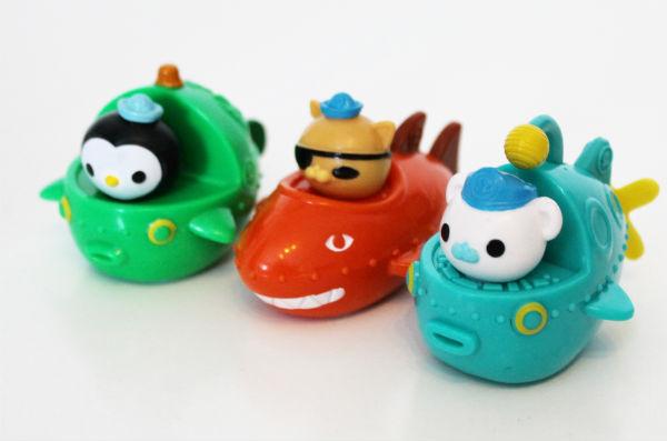 octonauts mini gup speeders