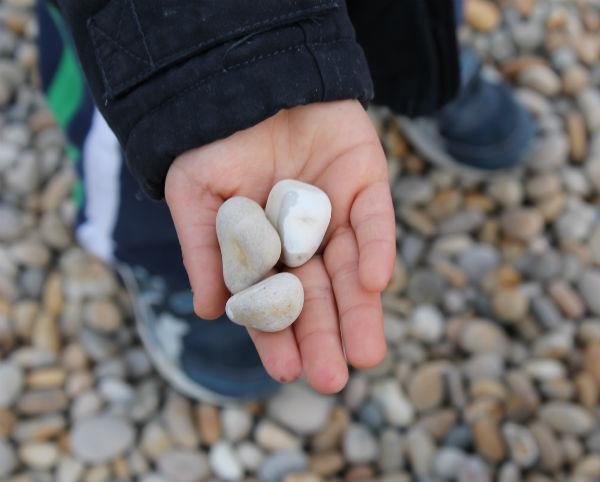 pebbles at chesil beach
