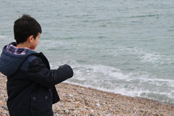 sea at chesil beach