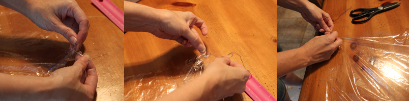 hand made parachutes instructions