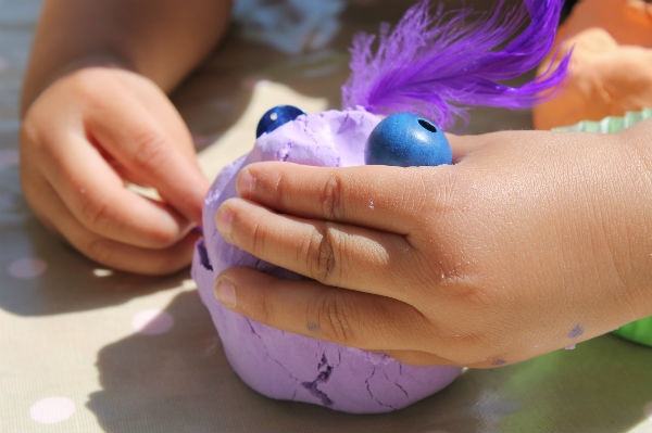 purple moon dough