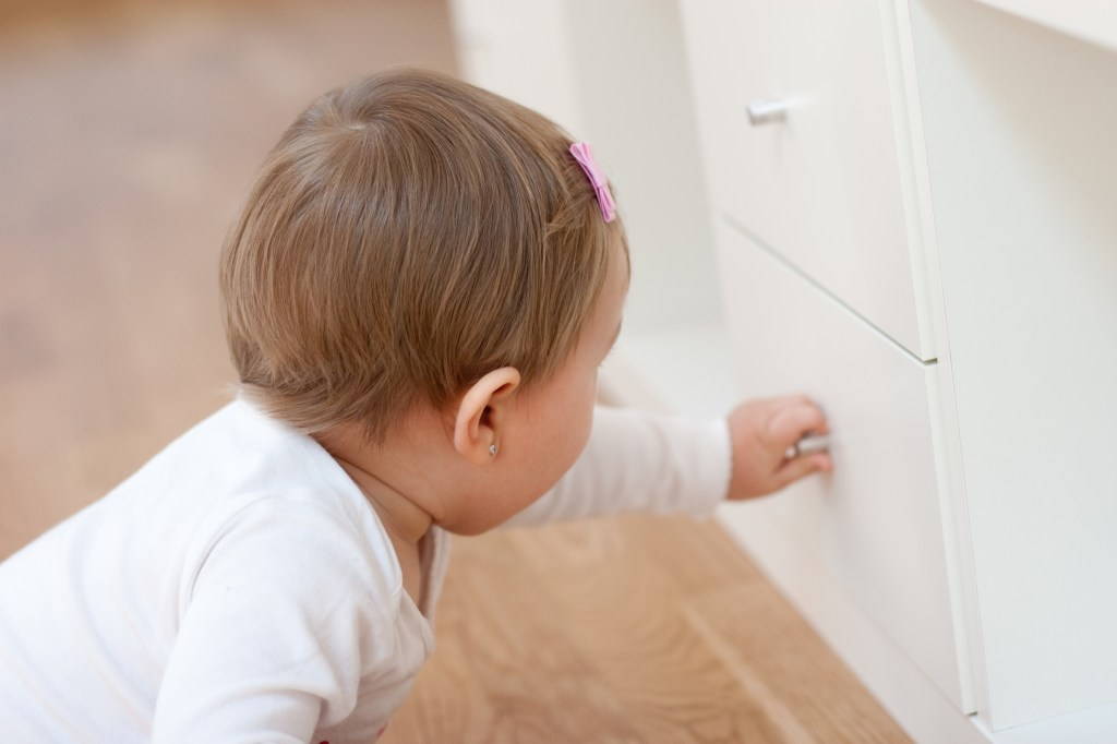 child safety week - babyproofing in the home