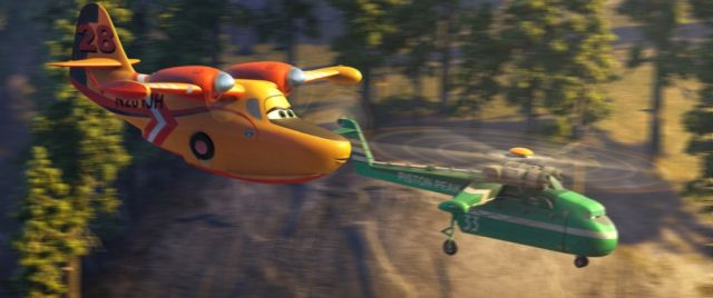 PLANES: FIRE & RESCUE dipper and windlifter