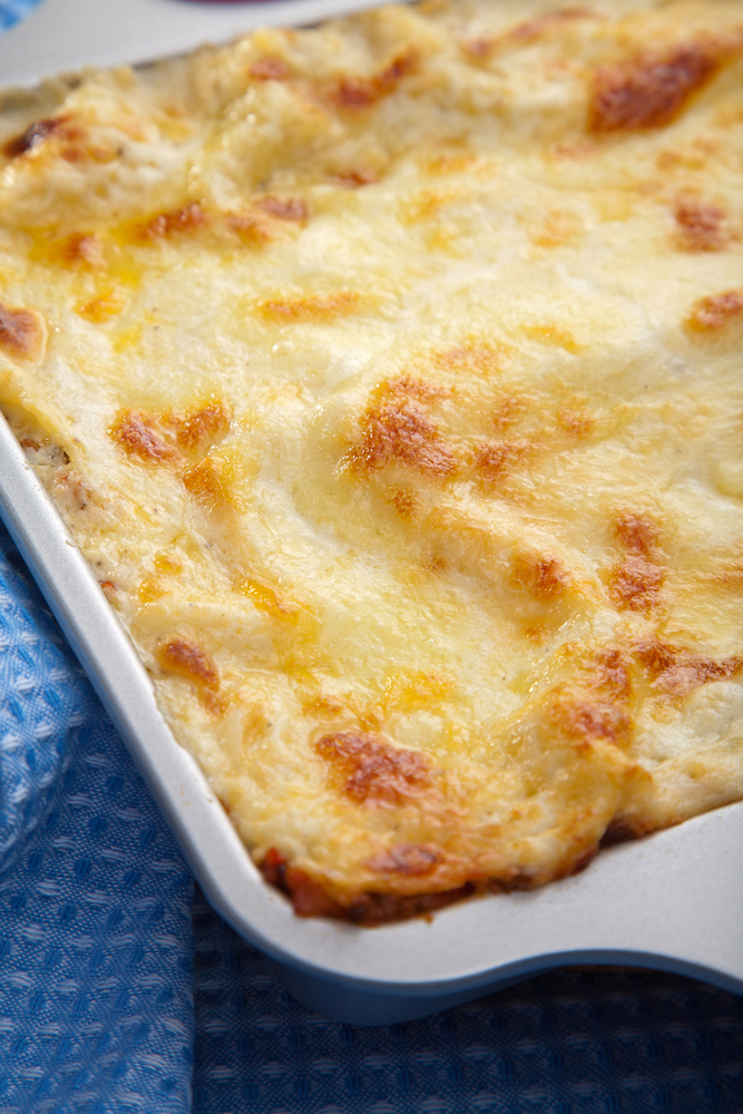 summer vegetable lasagne recipe - school dinner recipe
