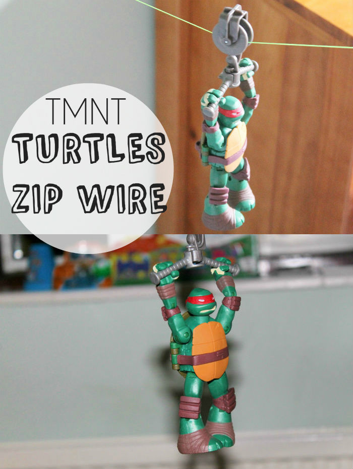 TMNT Teenage Mutant Ninja Turtles Zip wire / Zipline