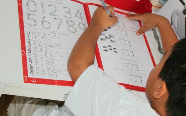 basic numeracy workbook for kids