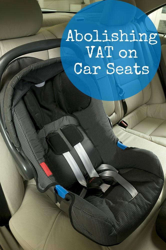 Halfords proposal to abolish VAT on car seats