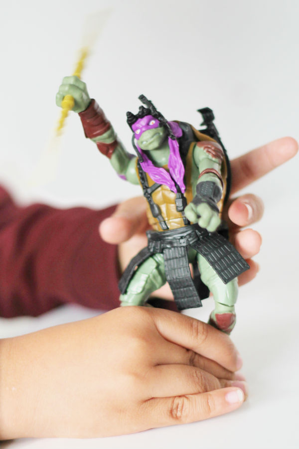 TMNT movie figure Donatello Combat Warrior