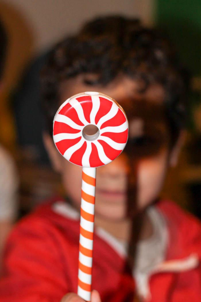 candy construction lollipop