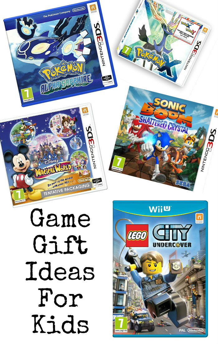 Kids gaming gift guide : lots of recommended game ideas for kids of 6 years +