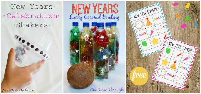 New Years Eve party games for kids