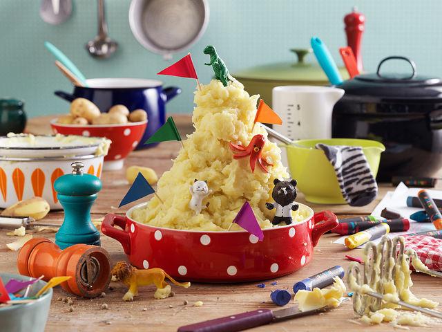 easy mashed potatos recipe for kids to make