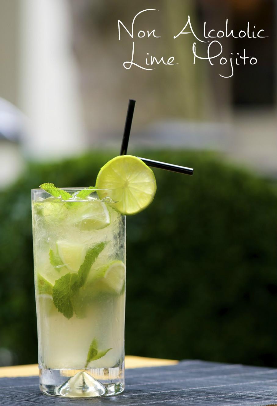 Lime Mojito Mocktail Recipe - In The Playroom