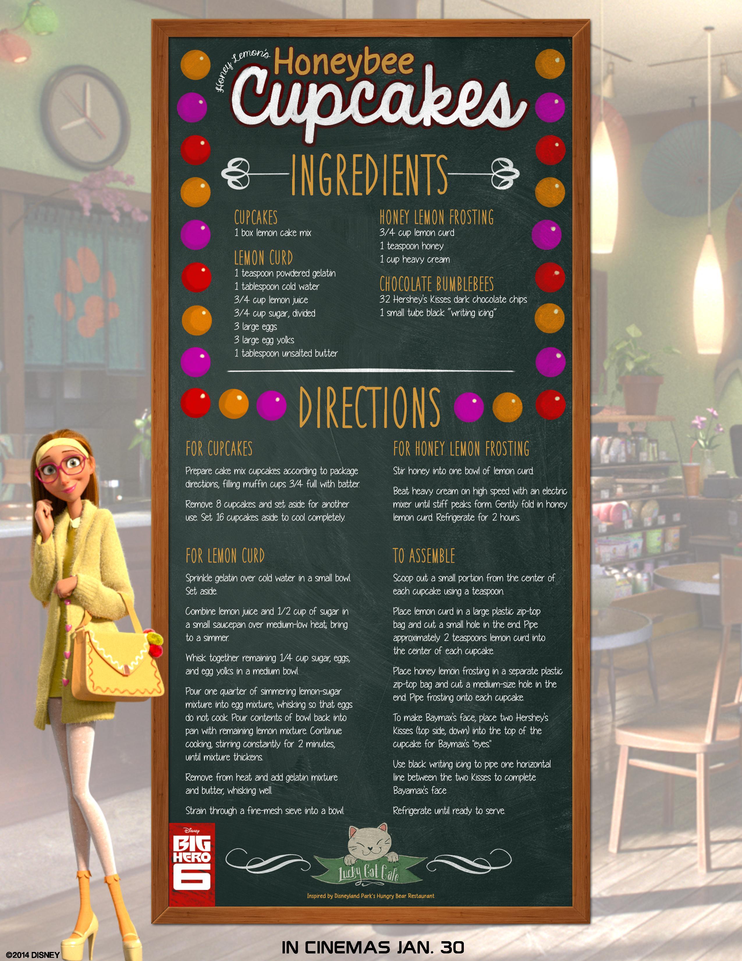 Hero Honey Ingredients Big Hero 6 Honey Lemon