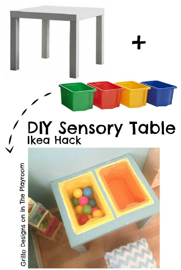 Kids playroom paint ideas - Diy Sensory Table Tutorial From 194 Http Www Facebook Com