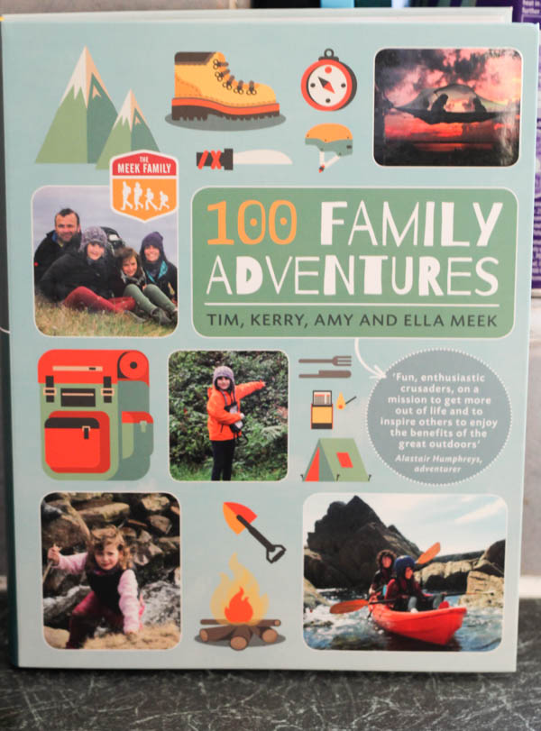 100 family adventures for the outdoors