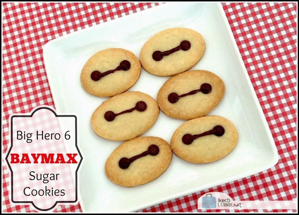 baymax sugar cookies